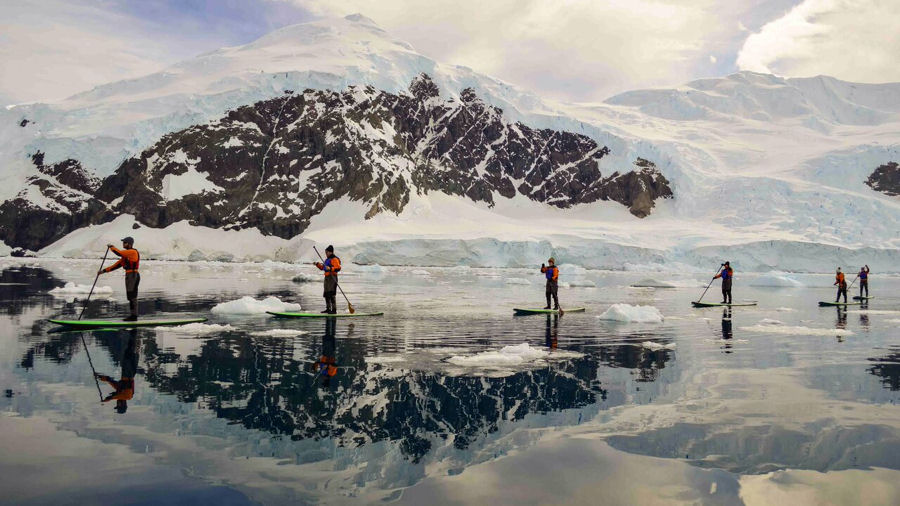 AdventureSmith SUP Antarctica