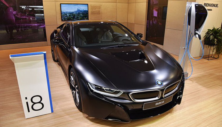 BMW - i8 Protonic Frozen Black Edition