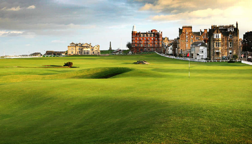 17th hole Old Course
