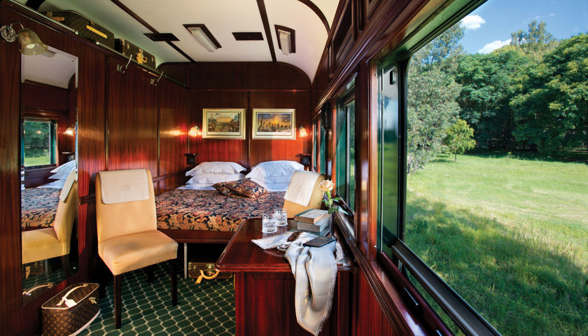 Rovos Rail bedroom