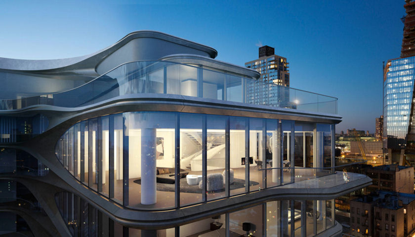The Penthouse at 520 West 28th Street, New York