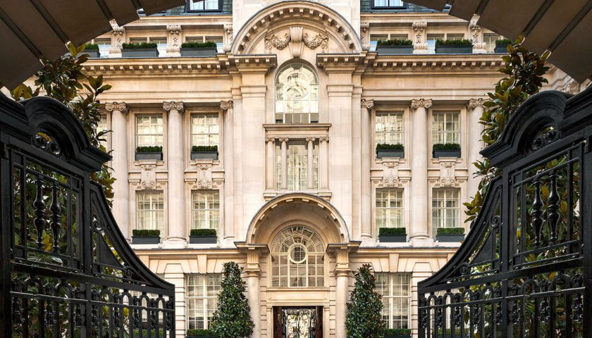 Rosewood London facade