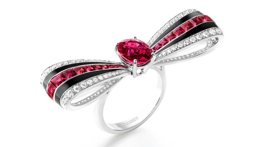 Boucheron ruby ring