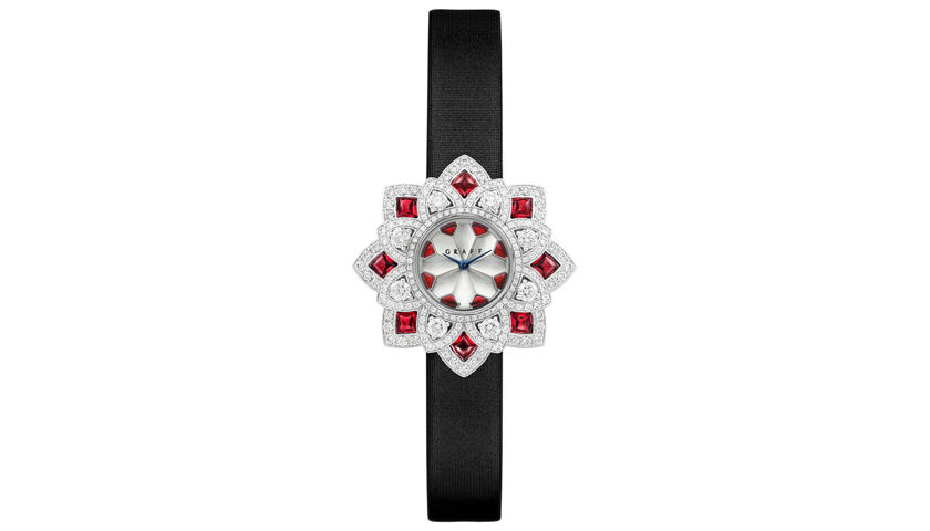 Graff ruby watch