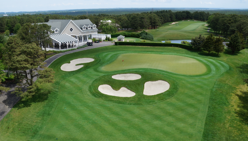 Hampton Hills Golf and Country Club 18th hole aerial