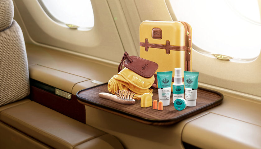 qatar airways amenities