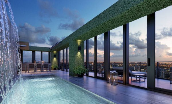 Regalia Penthouse pool