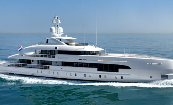 163ft/49.8m Hybrid Superyacht 'Home' in Portofino