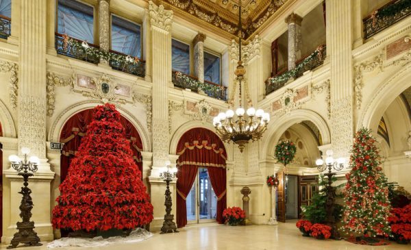 Christmas Returns to the Newport Mansions in November