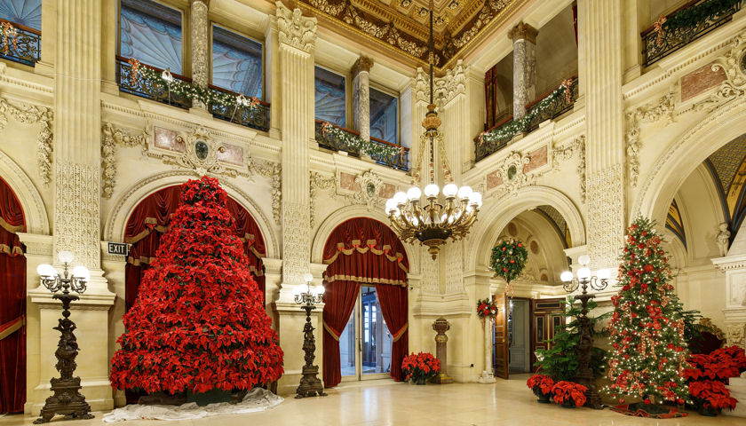 Newport Mansions Christmas