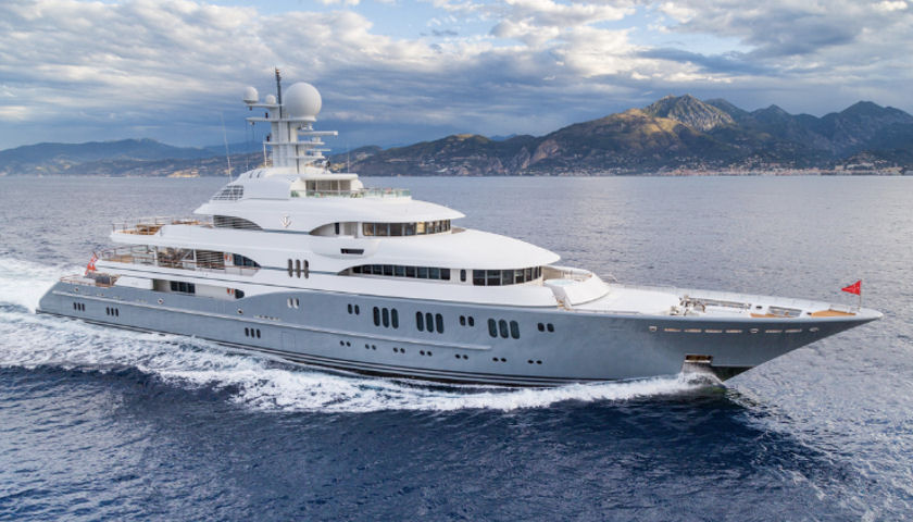 superyacht named TV