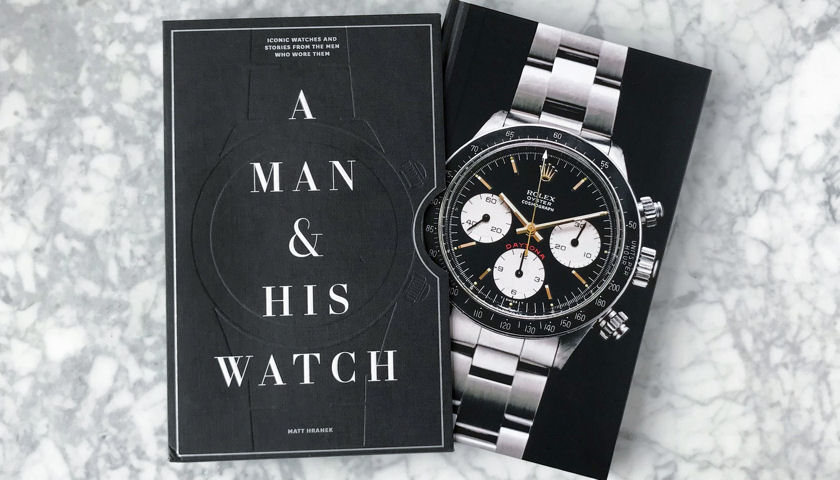 A Man and His Watch book cover