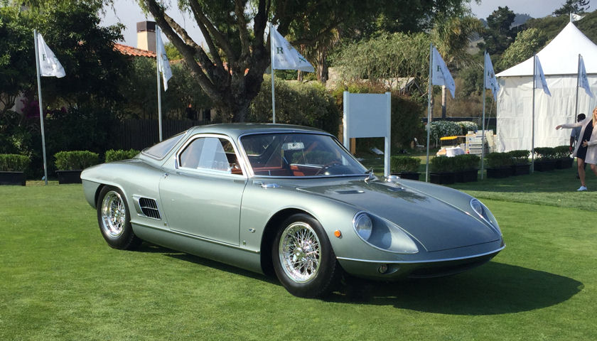 1964 ATS 2500 GTS Coup by Allemano