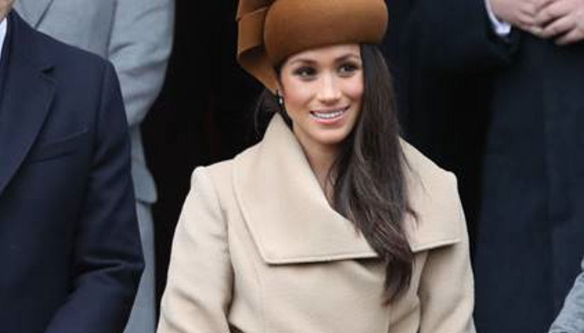 Meghan Markle Wears SENTALER coat