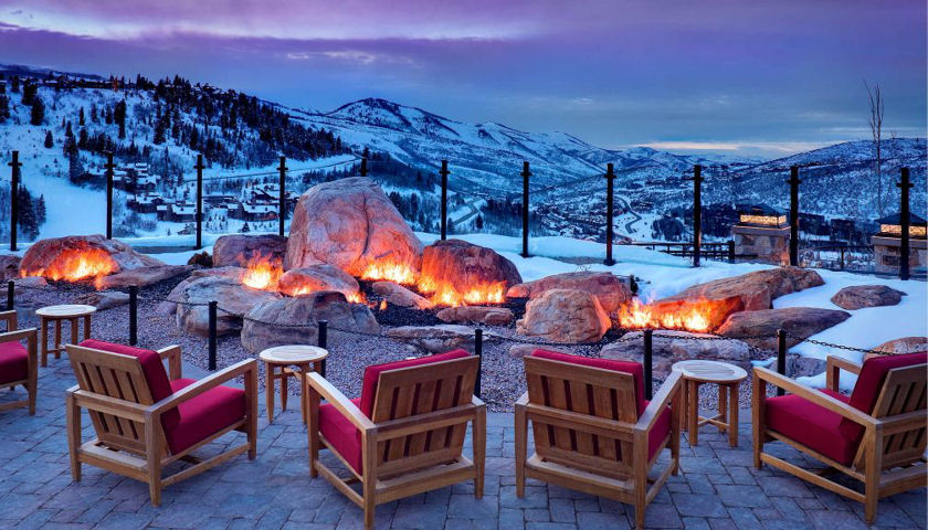 St. Regis Deer Valley Resort Mountain Terrace