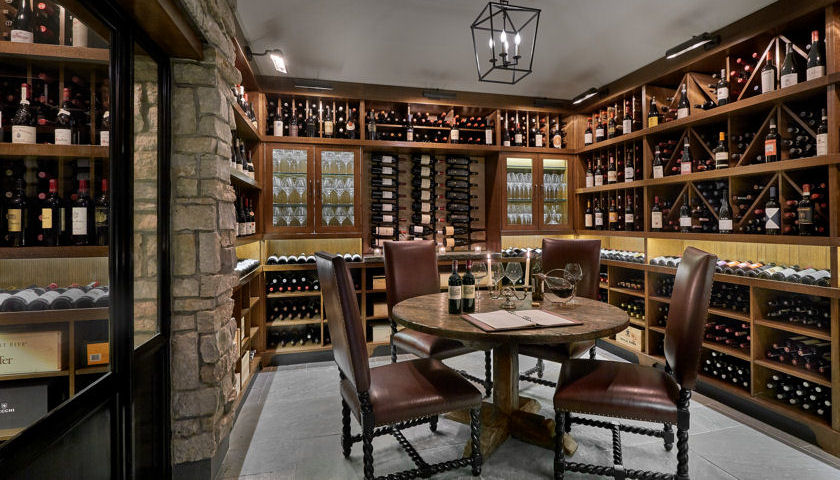 Deer Path Inn - Private Wine Cellar