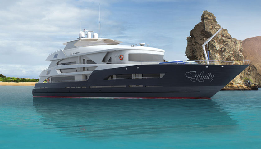 infinity yacht galapagos