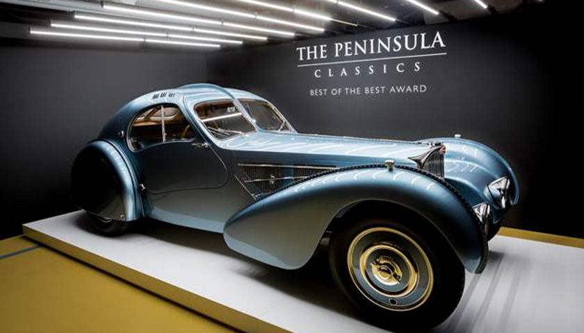 1936 Bugatti Type 57SC Coupe Atlantic