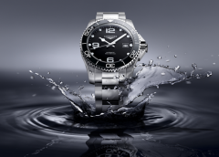 Longines Presents New HydroConquest Watches at Baselworld