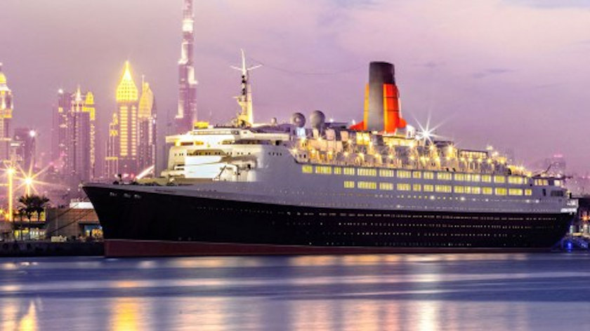 Dubai Queen Elizabeth II floating hotel