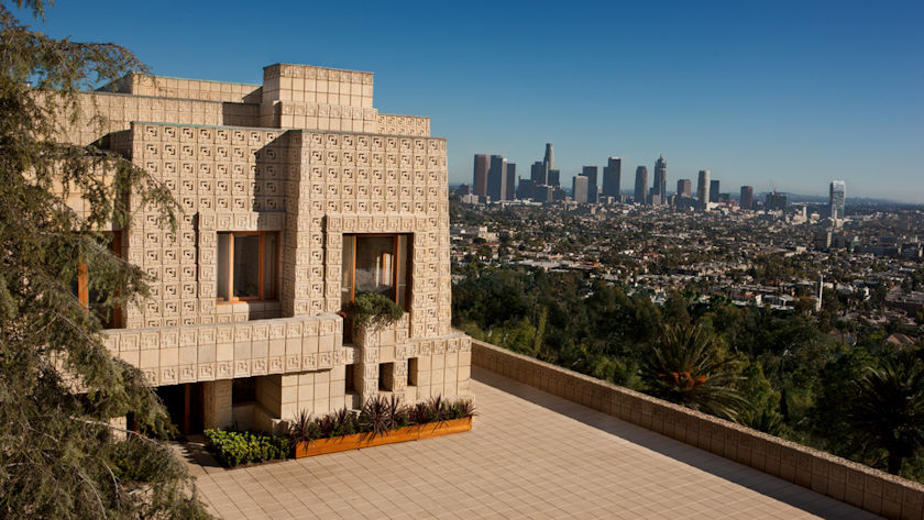 Ennis House view