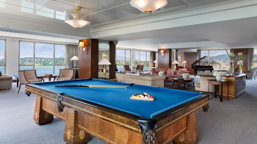 Royal Penthouse Suite at Hotel President Wilson