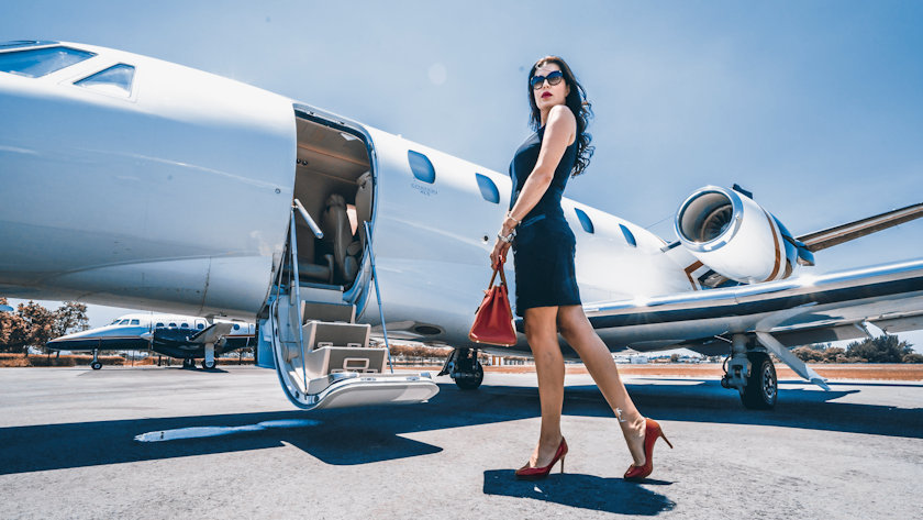 Art Basel private jet