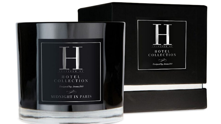 Hotel collection candles
