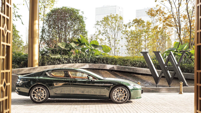 Aston Martin and Waldorf Astoria