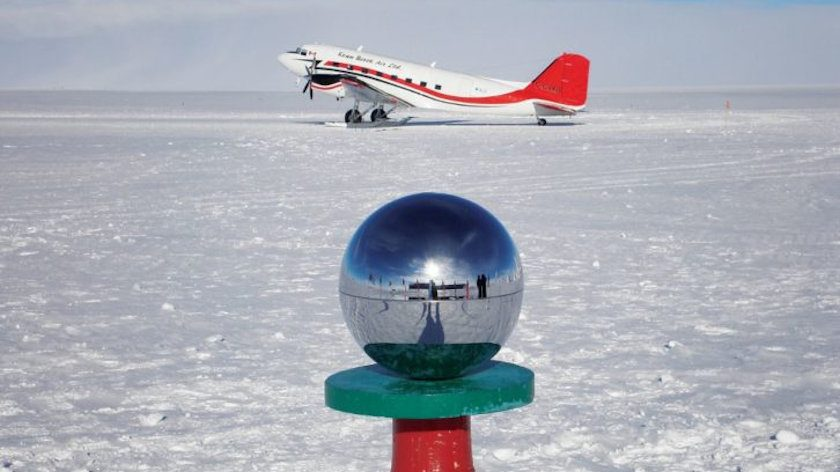 Camping at the South Pole South Pole