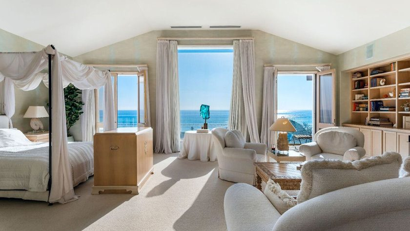 Frank Sinatra Malibu Beach House bedroom
