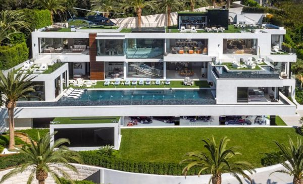 $100 Million Price Drop on L.A. Over-the-Top Supermansion