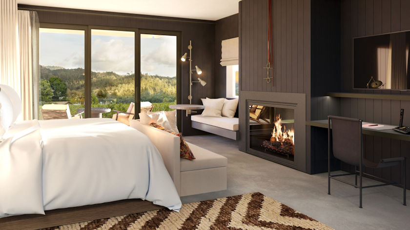 Four Seasons Resort and Residences Napa Valley bedroom