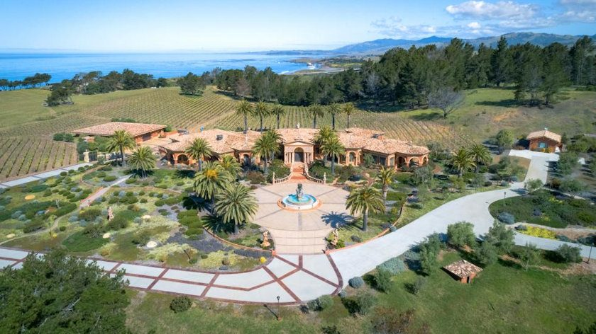 California Mansion & Vineyard Auction