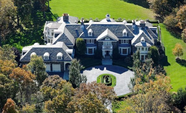 Live Near Bill & Hillary with this Mansion Auction
