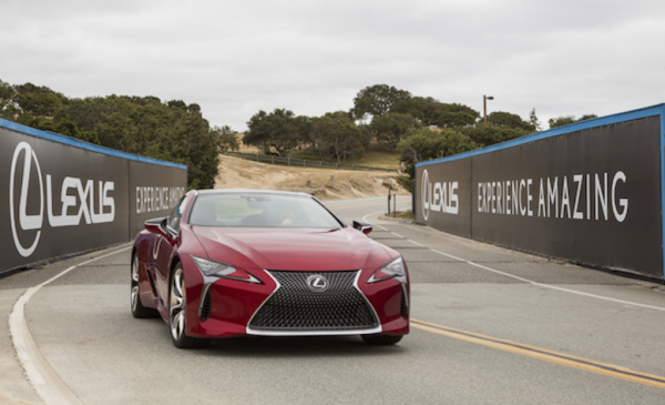 Drive Like a Pro at Lexus 'Track to Tee' Event