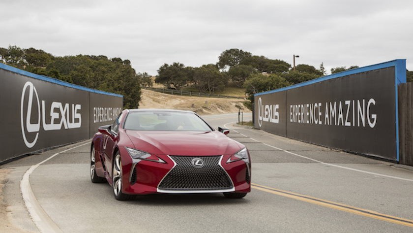 Lexus driving event