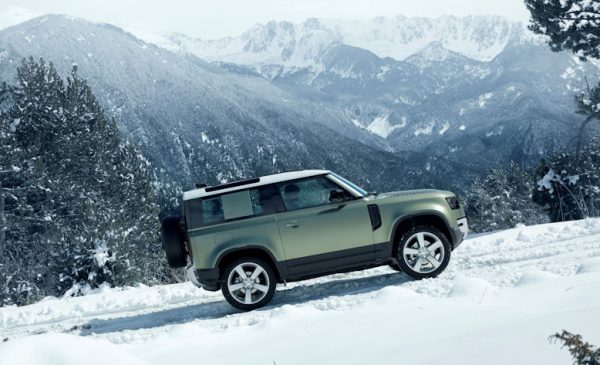 The New 2020 Land Rover Defender Makes Debut