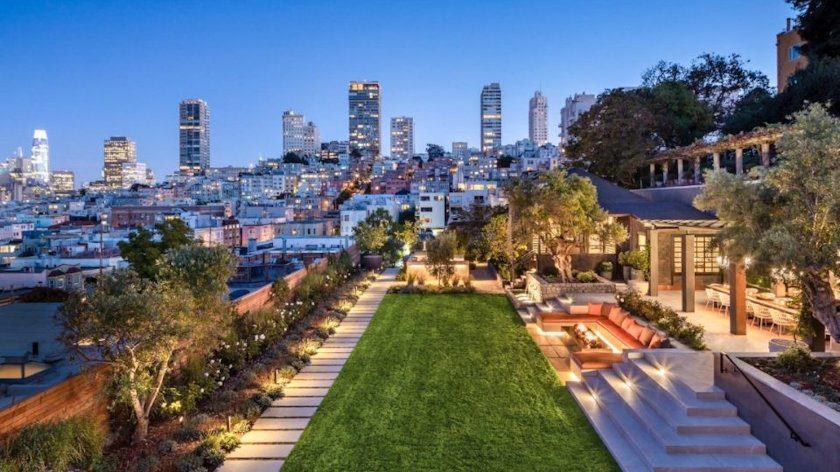 San Francisco's most expensive mansion