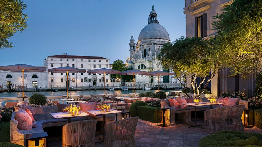 The St. Regis Venice terrace