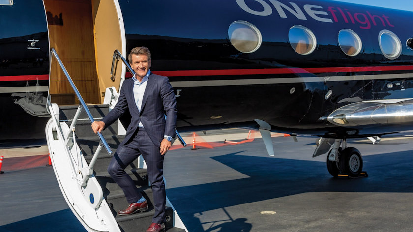 Robert Herjavec oneflight